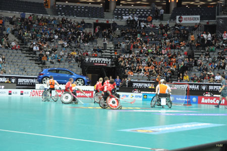 Czech & Dutchteam in the O2 arena Praha